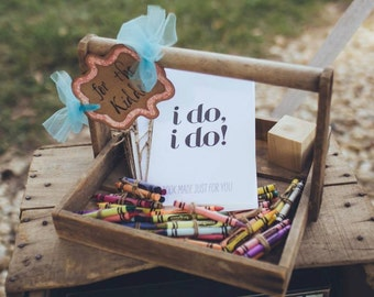 Wedding - For The Kiddos Sign - perfect for Weddings or Family Reunions