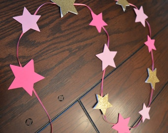 Twinkle Twinkle Star Garland, Birthday Party or Baby Shower Decorations