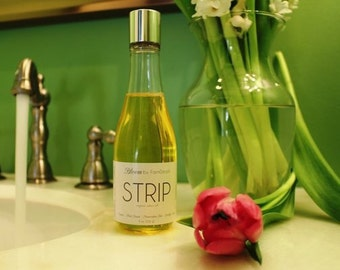 Organic Shave Oil - Strip - 8oz - Legs - Shave - Bloom body products