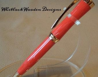 Sculpted design  ballpoint pen