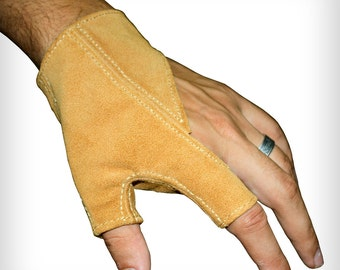 Archery Paradorso glove with suede leather for left hand
