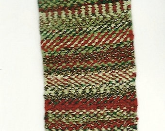 Twined Table Runner or Small Rug