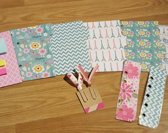 Filofax Pocket compatible planner dividers and accessories
