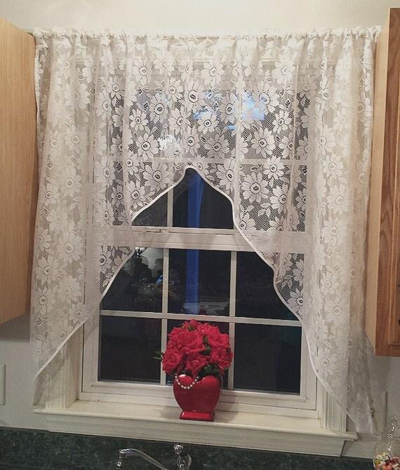 Shabby Chic Kitchen Bathroom Window Curtains Kitchen Curtains