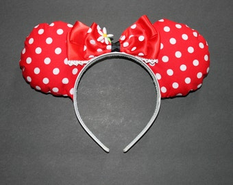 Minnie Mouse inspired Disney Ears