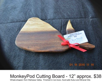 Hawaiian Monkey Pod Cutting Boards