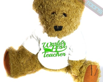 Teacher Thank You Gift Teddy Bear