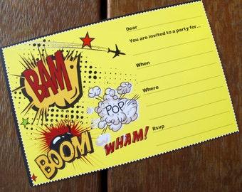 Comic Bam - Printable