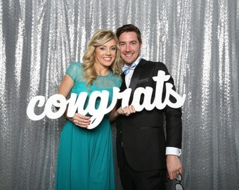 Congrats Photo Booth Prop