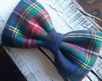 Large Flannel Bow