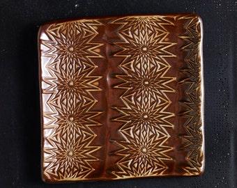 Handmade Starburst Small Plate