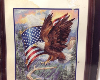 Flight of Freedom.   Counted cross stitch kit