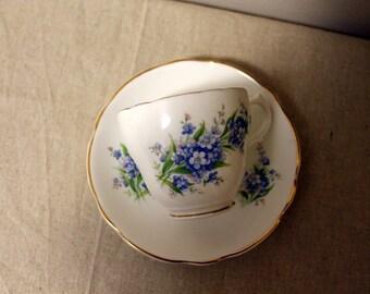 Sandford Bone China Tea Cup and Saucer