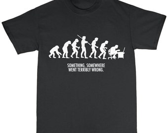 Evolution T-Shirt 100% Premium Cotton Darwin