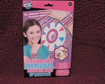 Kids craft kit - Friendship bracelet kit