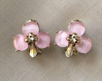 Clover vintage earrings