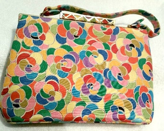 Nicholas Reich retro purse and coin purse, Bags by Nicholas Reich, handbag, vintage handbag, vintage purse, retro purse. bags,