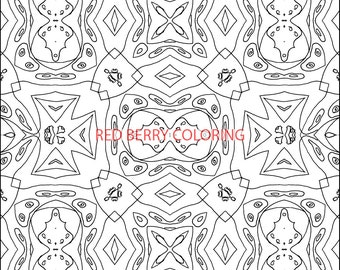 Adult Coloring Images: Perfect for calming minds.