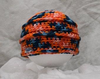 Multicolor orange beani Papilau