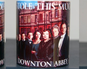 Personalised Downton Abbey Coffee Mug