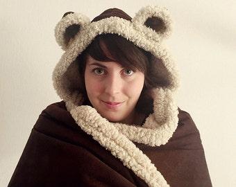 Bear blanket kids size
