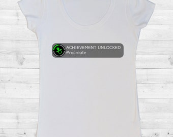 Achievement Unlocked Maternity T-Shirt