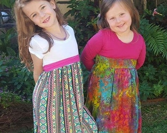 Girls Long Maxi Dress Sizes 1-14