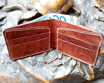 Men's leather wallet\free shipping\Classic leather wallet\Кожанный мужской кошелек\Portafoglio in   pelle,cuoio.