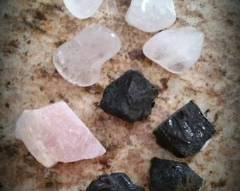 Home protection crystal grid kit