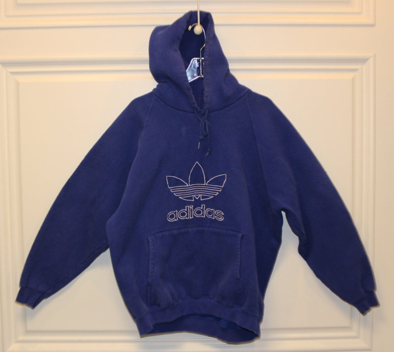 vintage adidas sweatshirt hoodie pullover made in. Black Bedroom Furniture Sets. Home Design Ideas
