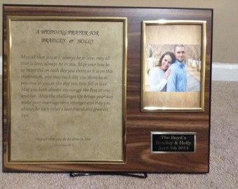 Customize Wedding Plaques