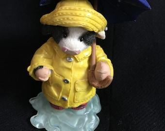 Mary Moos, Grow a little Sunshine, cow figurine