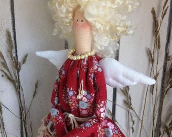 Handmade Decorative  Rag Fabric Doll