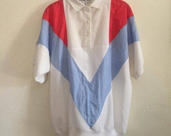1980s medium vintage casual shirt