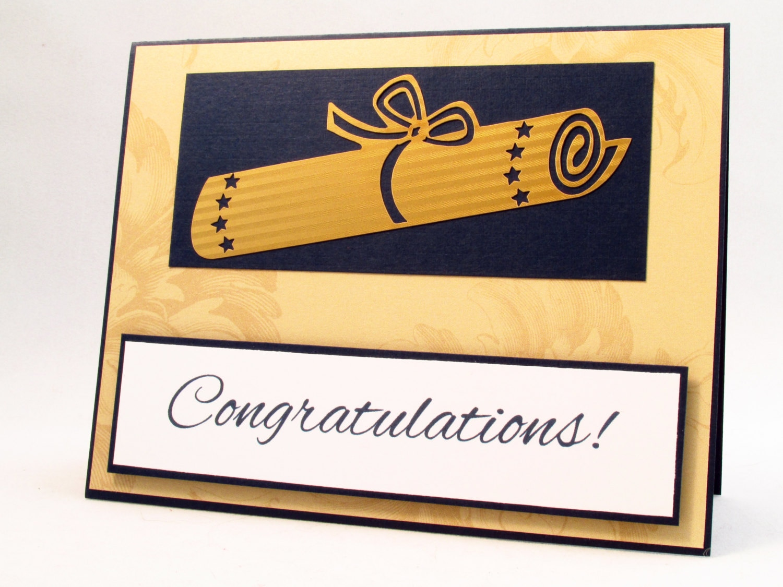 Graduation Card Congratulations Graduate graduation diploma