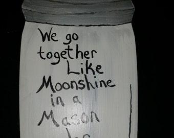 Moonshine Wall Art Etsy