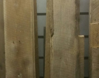 1x6x6 Reclaimed Lumber, Rough Cut