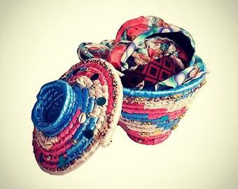 Aswan Ethnic Nubian Organizing Basket
