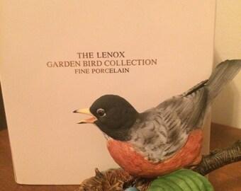 Vintage Lenox porcelain Robin