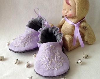 Bub'n'boots Newborn baby boy shoes