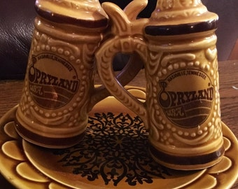 Vintage Opryland Beer Stein Shakers