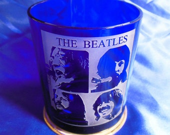 The Beatles glass2
