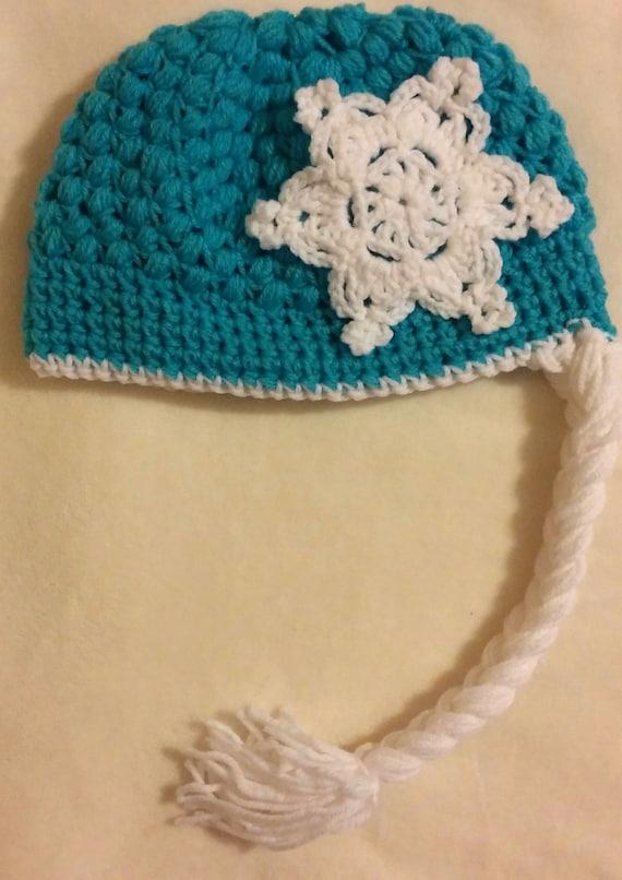 Free Crochet Pattern For Princess Elsa Hat : Crochet hat Princess Elsa Frozen by BlessingsbyBrina on Etsy