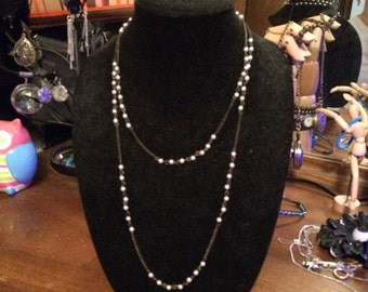 Double Strand Brass Pearls