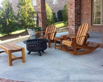 Handmade Traditional Cedar Adirondack Chairs and Furniture