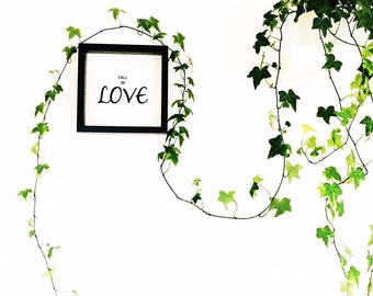 Quote Frame - Fall in Love - Wall Art - Love Quote