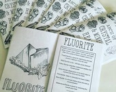 ABC's of Crystal & Mineral Healing Coloring Book Zine