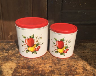 Deco Metal Canisters