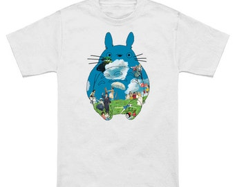 T-shirt Totoro (Miyazaki universe)
