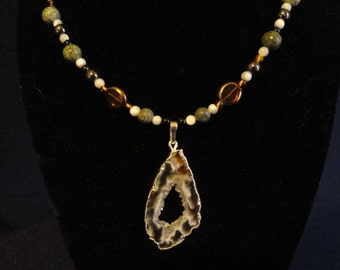 Brazilian Agate/Mixed Stones necklace